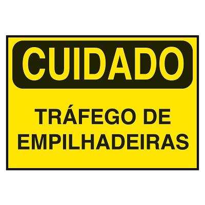 """f4e4b7cca8ee5 Cuidado! Tráfego de empilhadeiras!"""" – A importância da sinalização ..."""